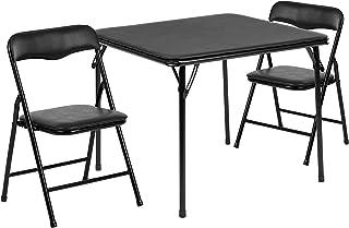 Flash Furniture Juego de Mesa y Silla Plegable para niños