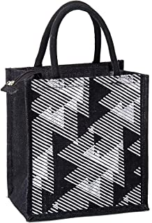 H&B Jute Tiffin bag – lunch bag for office, lunch bags for women, lunch bags for men, Jute bag for lunch, lunch box bags –...