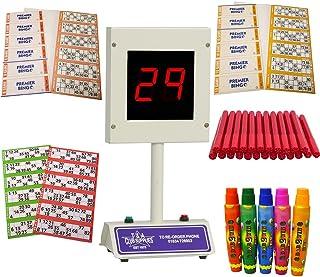 Lucky Bingo Electronic Bingo Machine Starter Kit - All you need to play Bingo