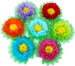 SD SPARKLING DREAM Paper Flowers Paper Pom Poms for Party Decorations Birthday Celebration Wedding and Outdoor Decoration ...