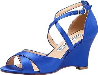 Best cobalt blue wedge heels Reviews