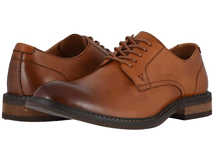 VIONIC  Graham Leather (Dark Tan) Mens Lace up casual Shoes