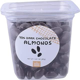 Whole Foods Market Bulk, 70 Dark Chocolate Almonds, 17 Ounce