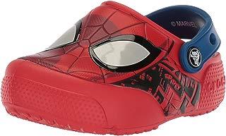 FL SpiderMan Lght Clog K Crocs Flame , Tamanho 24 BRA