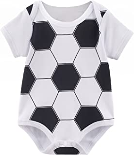 Baby Boys' Sports Short Sleeve Bodysuit