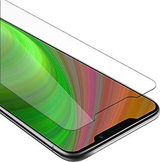 Cadorabo härdat glas fungerar med MEIZU X8 i HÖG TRANSPARENSY – skärmskydd 3D touch kompatibel med 9H hårdhet – skottsäker...