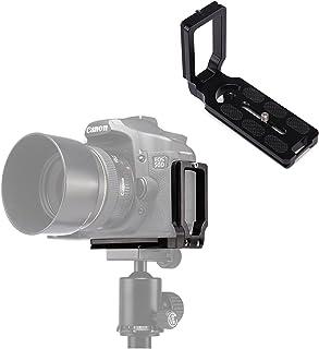 Selens L-M Universal 1/4 Tornillo L Forma Placa de liberación Rápida Soporte Bracket para Canon Nikon Sony Cámaras