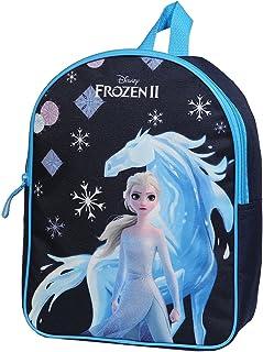 Sac à Dos goûter Maternelle 31 cm La Reine des Neiges/Frozen Disney Bleu Marine Bagtrotter