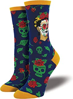 Best Womens Dia De Los Frida Casual Sock Review