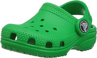 Crocs Kids' Classic Clog, Grass Green, 4 M US Toddler