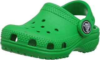 Crocs Kids' Classic Clog, Grass Green, 7 M US Toddler