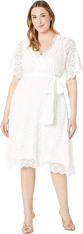 38b96957d84 Kiyonna. Screen Siren Lace Gown.  189.00. Graced with Love Wedding Dress