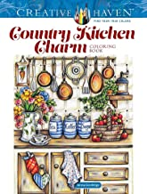Creative Haven Country Kitchen Charm Coloring Book