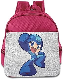 Mega Man Toddler Children School Bags Pink