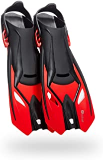 Cobalt Cabo Adjustable Snorkel Fins - Travel Ready Compact Fins for Snorkeling, Swimming and Scuba Diving. Comfort and Per...