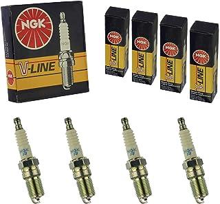 4x NGK Zündkerze Zuendkerze ILFR6A Set // 3588/4 Zylinder
