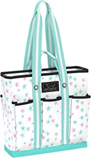SCOUT Pocket Rocket Tote, Large Tote Bag for Women with 6 Exterior Pockets & Interior Zippered Compartment, Perfect Utility Tote Bag with Pockets for Teachers and Nurses (Multiple Patterns Available)