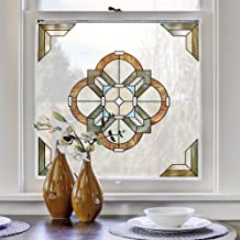 Artscape 02-3714 Newport Amber Window Accent 30.48 x 30.48 cm