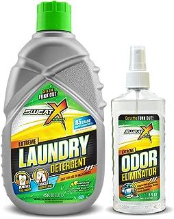 Sweat X Sport Mini Bundle - Sweat X Sport Laundry Detergent   Sweat X Sport Odor Eliminator Spray