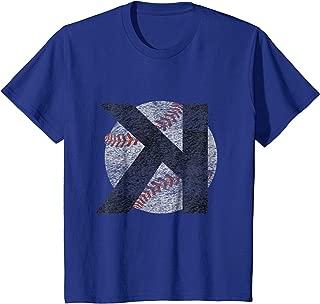 backwards k baseball shirt