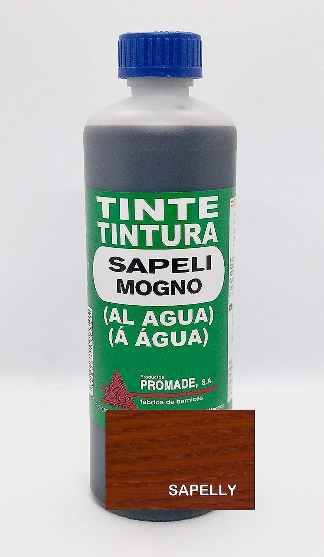 Promade - Tinte al agua para madera 500 ml (Negro)
