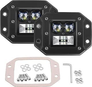 Flush Mount LED Pods, SWATOW 4×4 2PCS 5