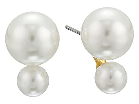 Kate Spade New York Bright Ideas Double Pearl Stud Earrings
