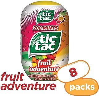 Tic Tac Fresh Breath Mints, Fruit Adventure, 3.4 Ounce, Pack of 8