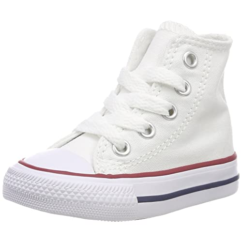d7a5dc468724 Converse Unisex Kids  CTAS-hi-Optical White-Youth Fitness Shoes