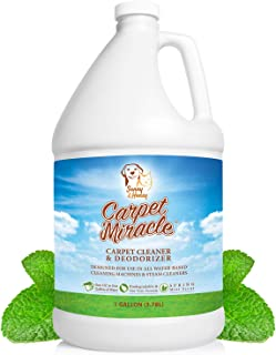 Carpet Miracle - Concentrated Machine Shampoo, Deep Stain and Odor Remover Solution, Deodorizing Formula (1 Gallon)