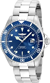 Invicta Men's Pro Diver Quartz Diving Watch with Stainless-Steel Strap, Silver, 22 (Model: 22019)