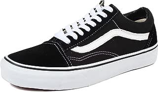 Unisex Old Skool Skate Shoe (9.5 B(M) US Women/8 D(M) US Men, Black/True White)