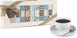 """Thoughtfully Gifts, """"Coffee Of The Holidays"""" Gourmet Coffee Gift Set, Flavors Include Gingerbread, Spiced Latte, Butter To..."""