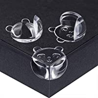 20 Pack ZODDLE Small Clear Baby Corner Protectors for Kids