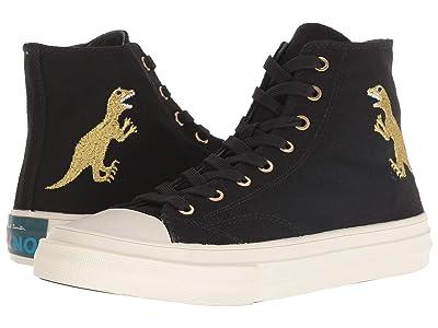 Paul Smith Kirk Sneaker (Black Dino Gold) Women
