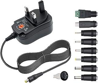 12W 3V 4.5V 5V 6V 7.5V 9V 12V Power Supply Universal Charger AC Adapter DC Charger For CCTV Router Camera BT Speaker Scann...