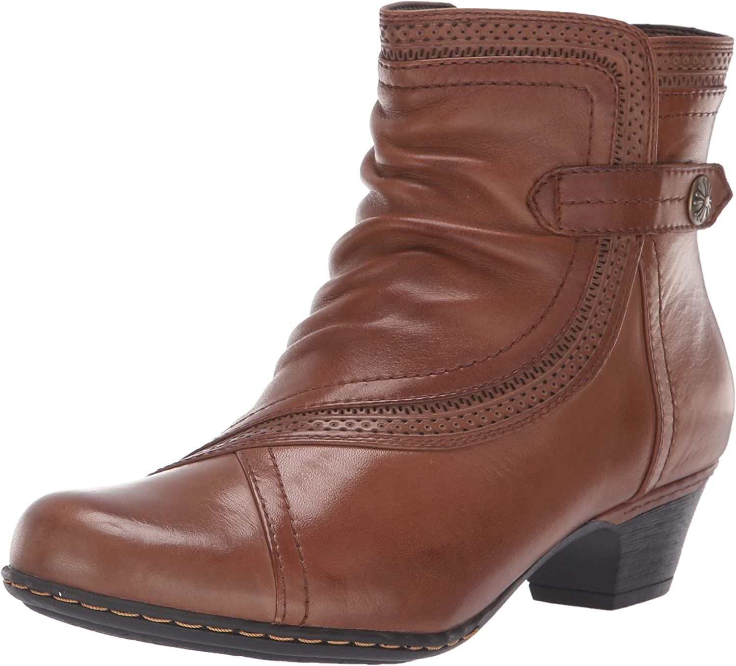 Cobb Hill Womens Abbott Panel Boot Ankle Boot