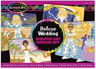 Scratch Art Melissa & Doug Deluxe Wedding Set