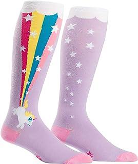 Hombres o Mujeres de la rodilla alta Wide Calf stretch it calcetines