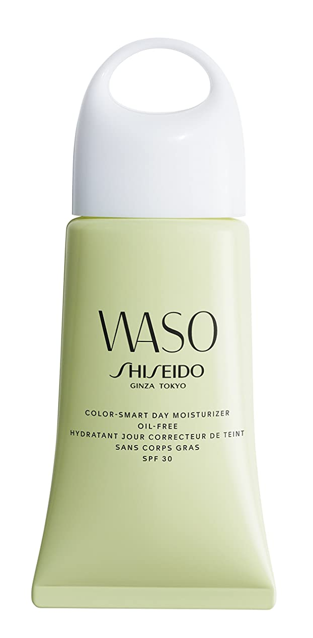 ハング熱狂的な技術的な資生堂 Waso Color-Smart Day Moisturizer Oil-Free SPF 30 50ml/1.9oz並行輸入品