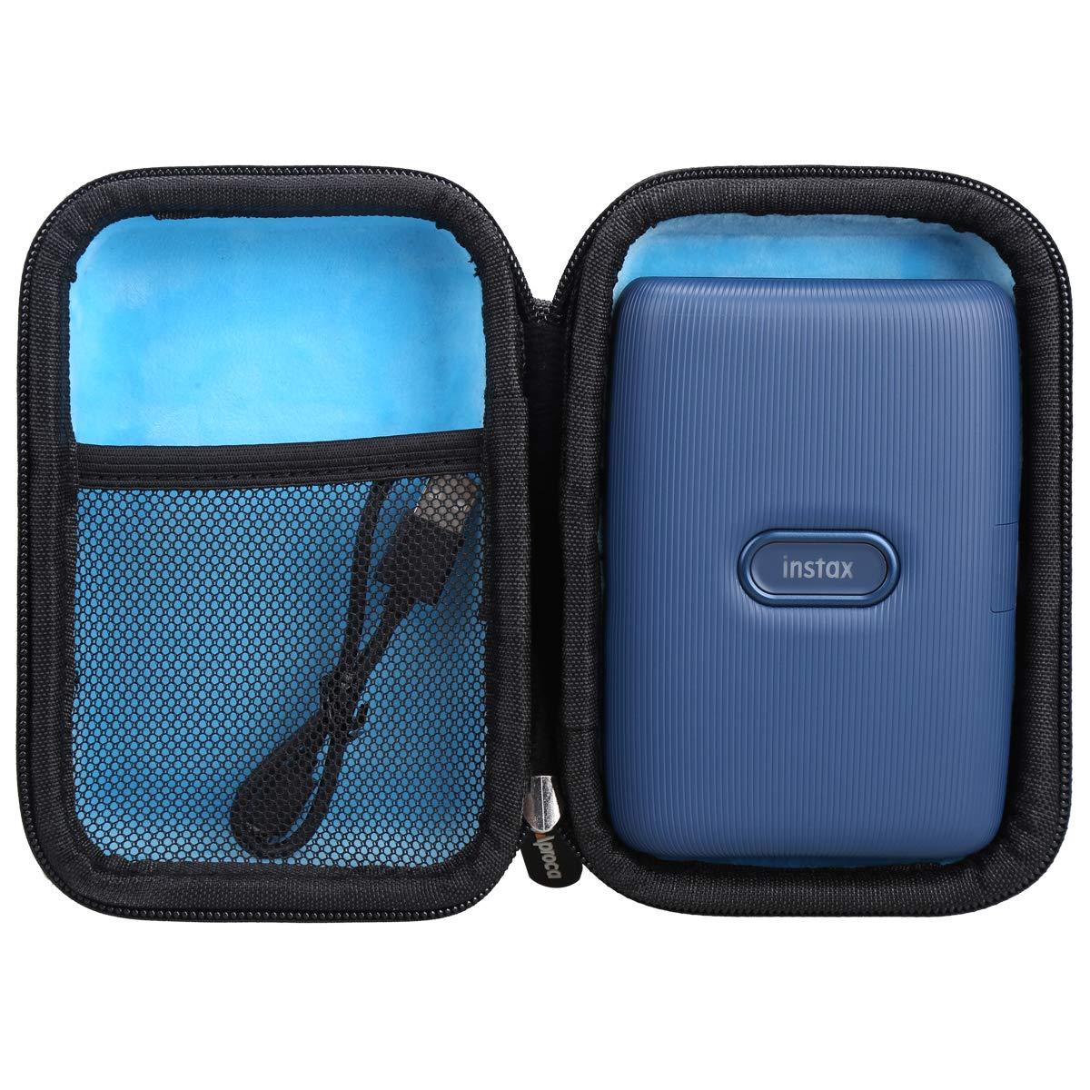 Aproca Duro Viajes Funda Bolso Caso para Instax Link Impresora para Smartphone (Blue): Amazon.es: Electrónica