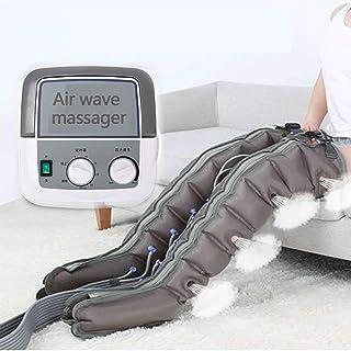 تدليك كامل لضغط هواء الساق مع جهاز تحكم محمول باليد، مدلك للقدم مع 8 أكياس هوائية، وضع دوران تلقائي بالكامل، تدليك متعدد ا...