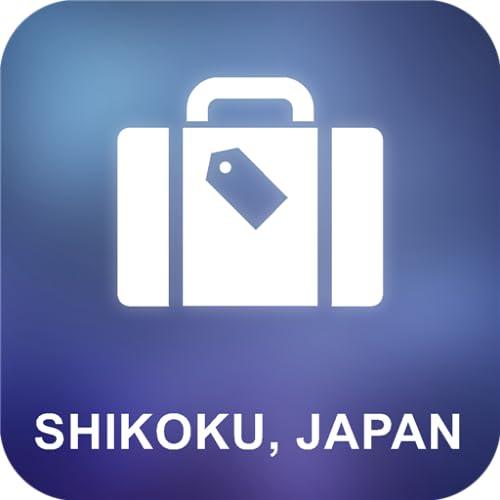 Shikoku, Japan Offline Map