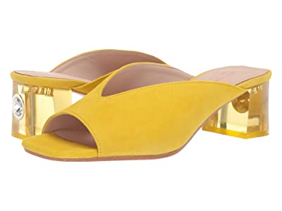 Kate Spade New York Caila (Vibrant Canary Suede) Women