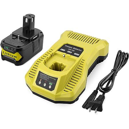 5Ah, 18V 130429068 Power ToolCordless Battery for Ryobi