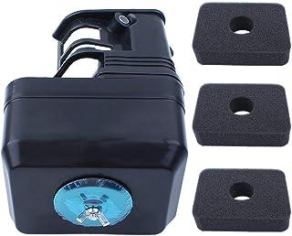 Haishine Cubierta de la Carcasa del Filtro de Aire y 3 filtros de Aire Kit para Honda GX140 GX160 GX200 Chino 168F Motor Generador Bomba de Agua Compresor de Aire