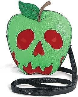 Sleepyville Critters - Poisoned Apple Crossbody Bag in Vinyl Material