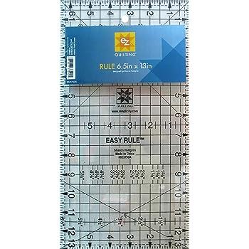 "EZ Quilting EZ International 8823750 Easy Angle Tool, 6-1/2"""
