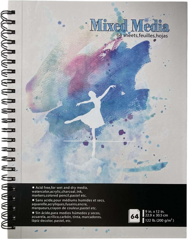 tumuarta Mixed Media Sketchbook 9x12