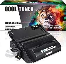 Cool Toner Compatible Toner Cartridge Replacement for HP 42X Q5942X Q1338A Q5942 for HP LaserJet 4250TN 4250N 4250DTN 4350N 4350TN 4350DTN Printer-1PK